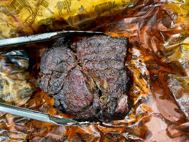 smoked chuck roast for poor man's burnt ends